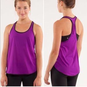 Lululemon 105 singlet purple top s 4